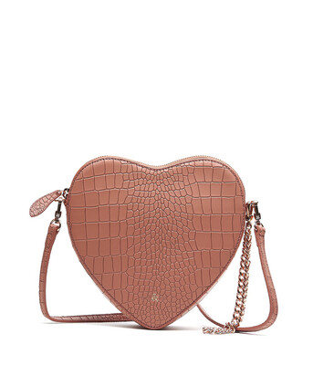 Bell & Fox AMOUR Heart Crossbody / Wristlet Clutch Bag - Terracotta