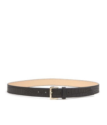 Bell & Fox ERIN Belt Croc Black