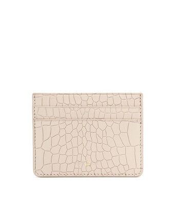 Bell & Fox RUMI Card Holder - Croc Powder