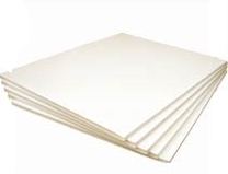Backing boards - white