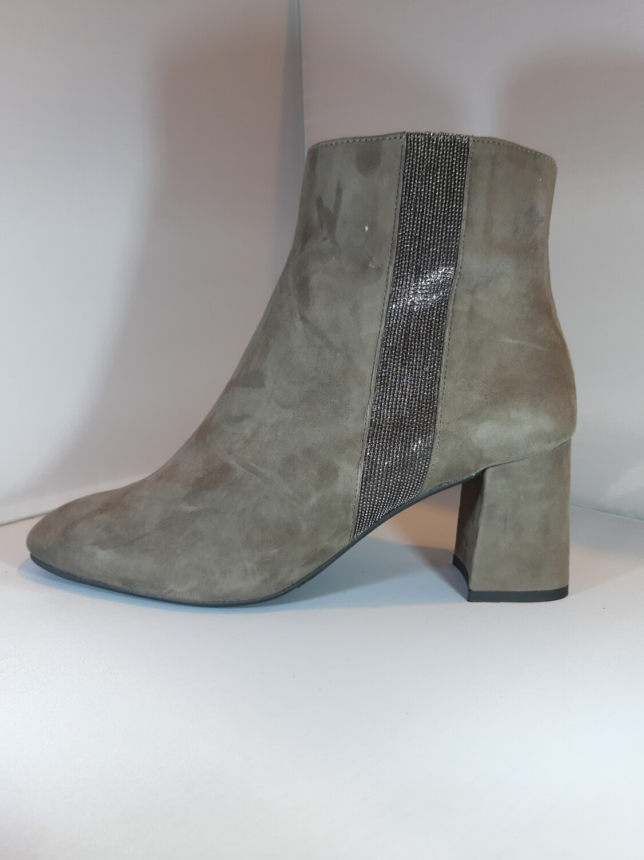 Catwalk | Boot hak taupe daim