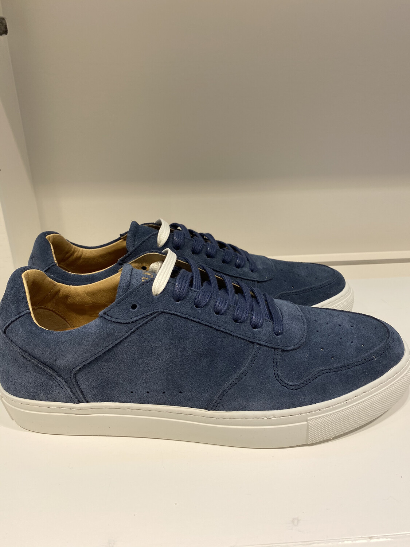 Catwalk / herensneaker blauw daim