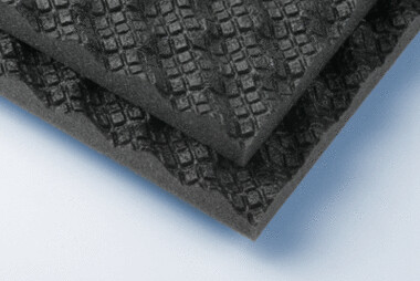 soni Wave - schwarz - 50 mm - selbstklebend