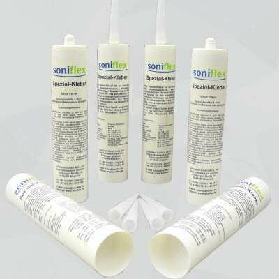 soniflex Spezial-Kleber (Set mit 6 Kartuschen)