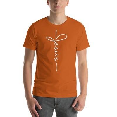 Jesus logo Short-Sleeve Unisex T-Shirt