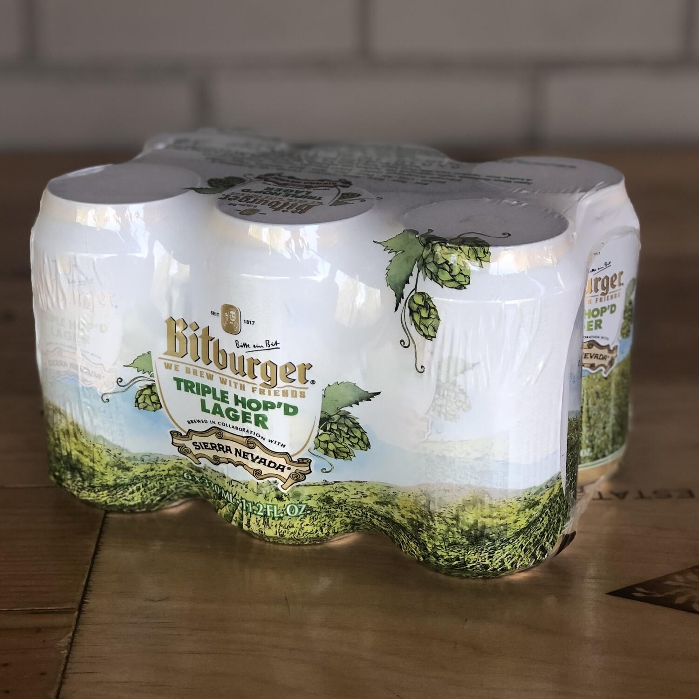 Sierra Nevada/Bitburger Triple Hop'd Lager (6pk)