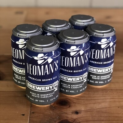 Brewery 85 Yeomans Brown (6pk)