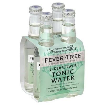 Fever Tree Elderflower Tonic Water