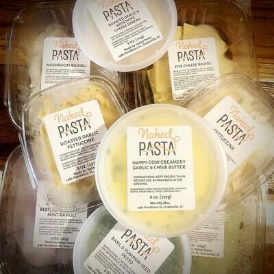 Naked Pasta Spinach & Artichoke Ravioli