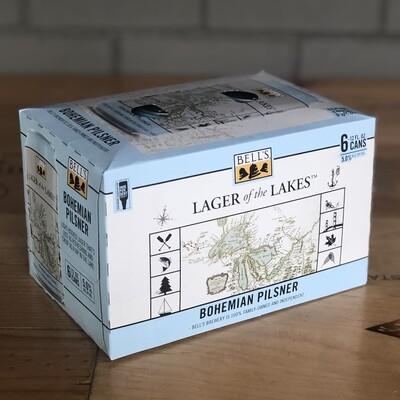 Bell's Lager of the Lakes Bohemian Pilsner (6pk)