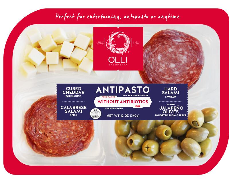 Olli Salumeria Antipasto - Calabrese Salami, Hard Salami, Cheddar, Jalapeno Olives