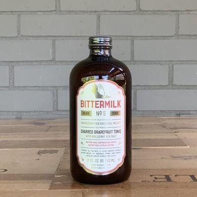 Bittermilk Cocktail Mixer No. 5 - Charred Grapefruit Tonic (17 fl oz)