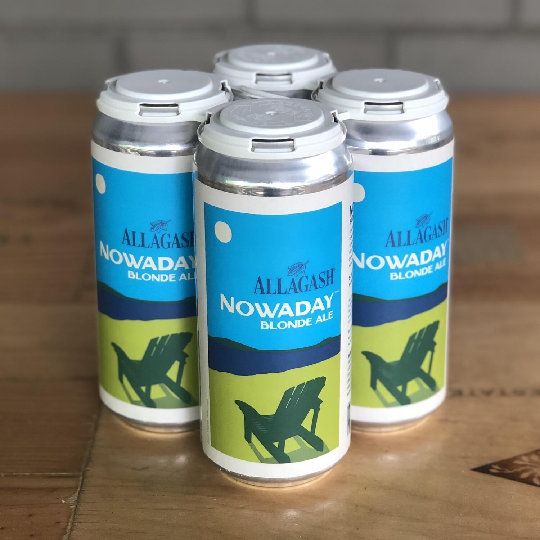 Allagash Nowadays Blonde Ale (4pk)