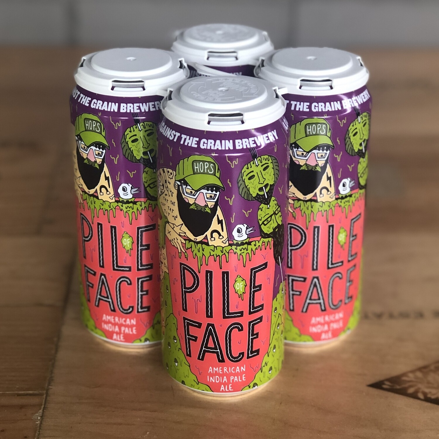 Against The Grain Pile Of Face (4pk)