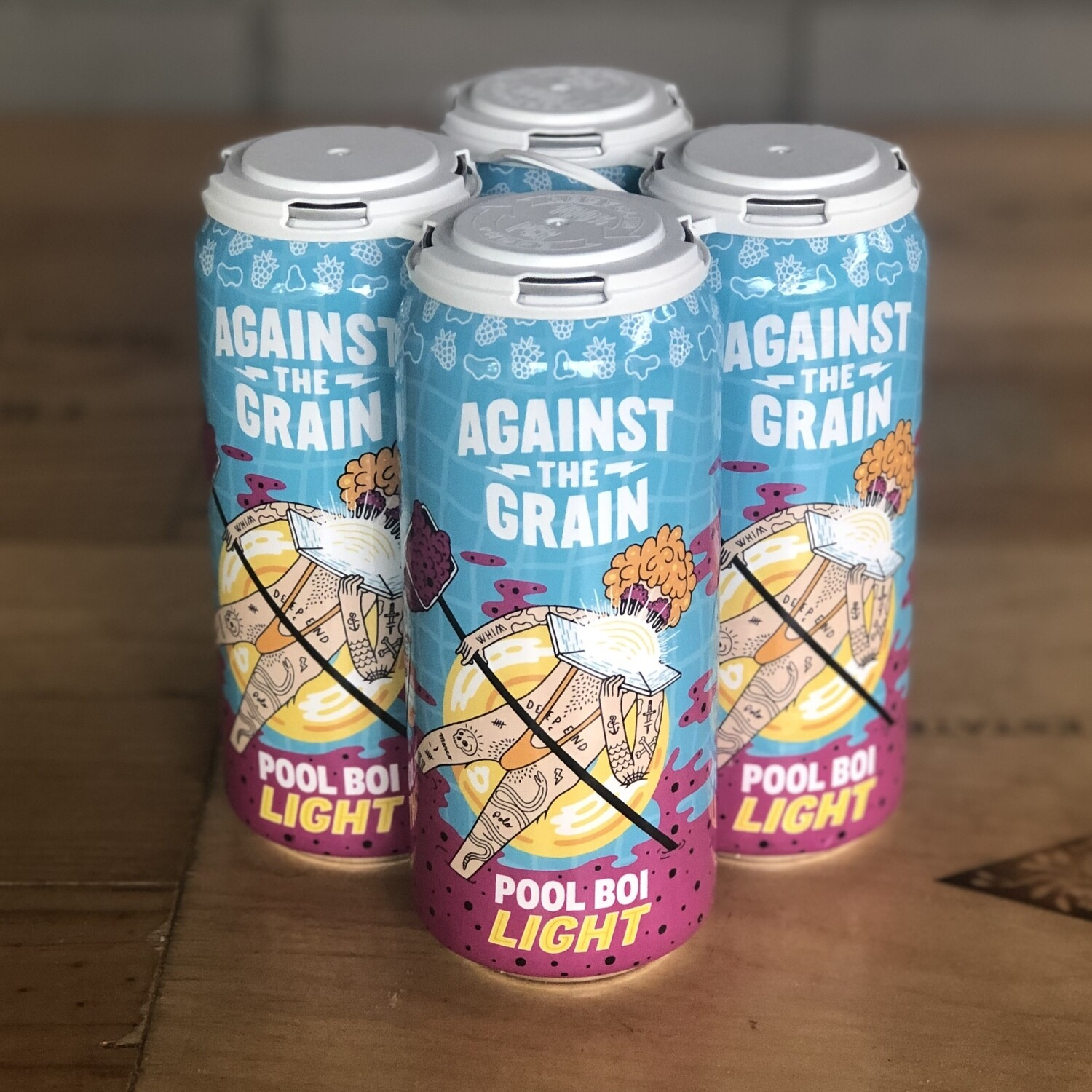 Against The Grain Pool Boi Light (4pk)