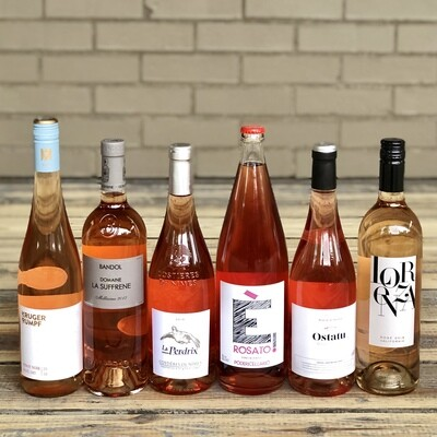 Rosé Social - Pink Wine: 6 Bottle Package
