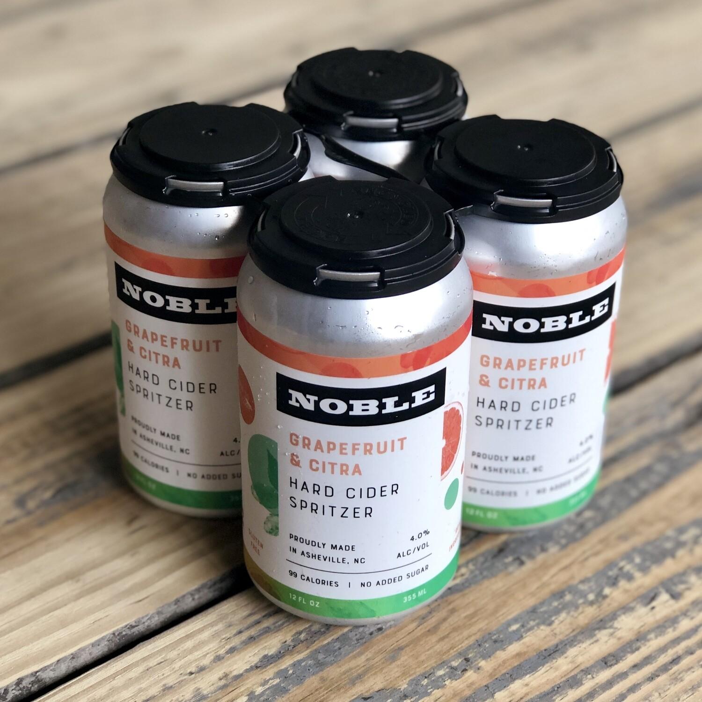 Noble Grapefruit & Citra Hard Cider Spritzer (4pk)