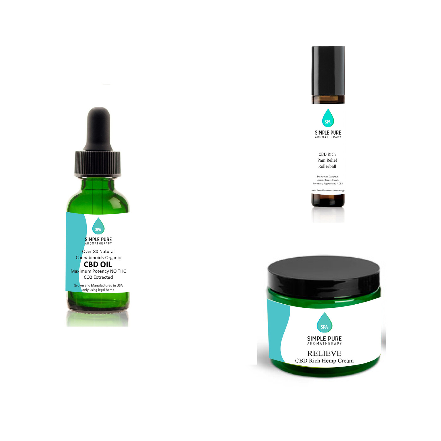 CBD 3 pack special 1500 mg