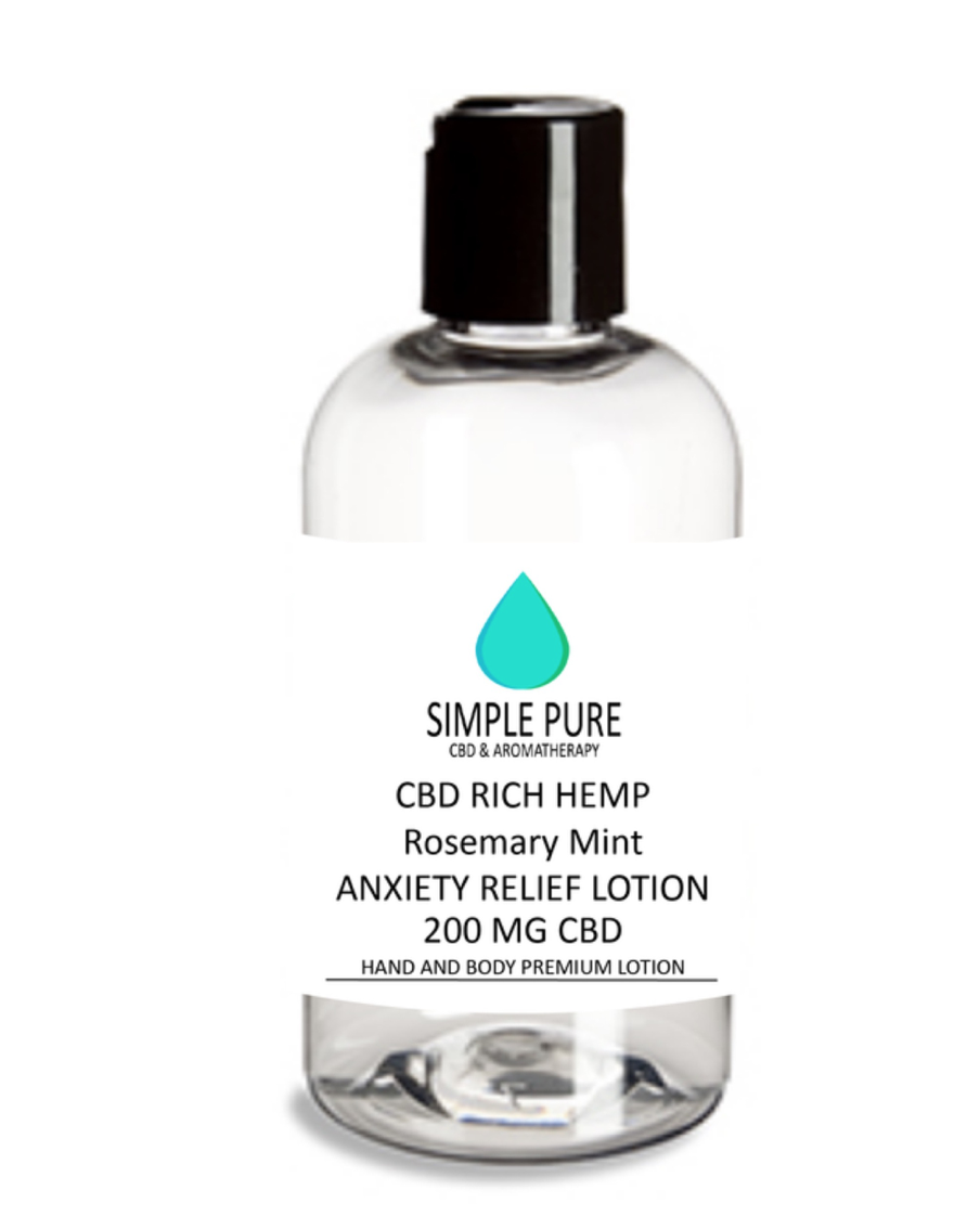 200 MG Anxiety Lotion