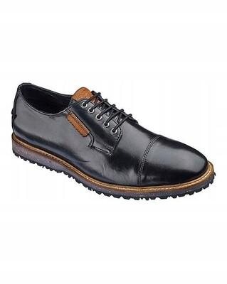 Juodi vyriški odiniai batai
