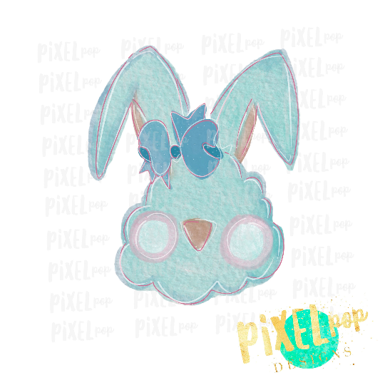 Easter Bunny Rabbit Sublimation Design PNG | Hand Drawn Sublimation Design | Sublimation PNG | Digital Download | Printable Artwork | Art
