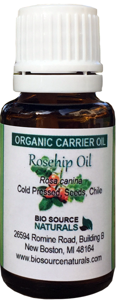 Rosehip, Organic Carrier Oil - 1 fl oz (30 ml)