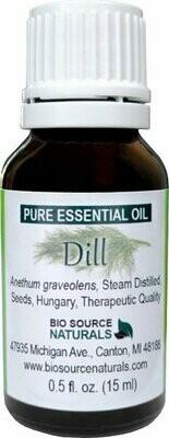 Dill Pure Essential Oil