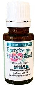 Energize Me! Fatigue Essential Oil Blend - Aromatherapy