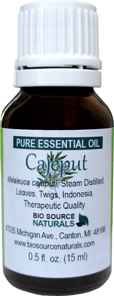 Cajeput Pure Essential Oil with Analysis Report