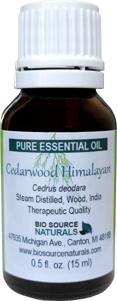 Cedarwood Pure Essential Oil  - Himalayan with Analysis Report