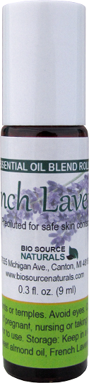 Lavender, French Pure Essential Oil - 0.3 fl oz (9 ml) Roll On