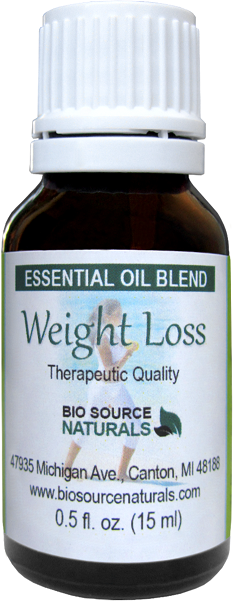 Weight Loss Essential Oil Blend
