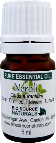 Neroli Pure Essential Oil -  5 ml Tunisian  with 3rd Party GC Report