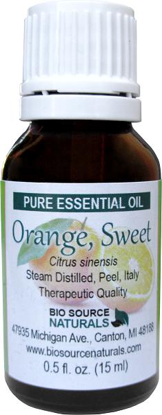 Orange, Sweet Pure Essential Oil