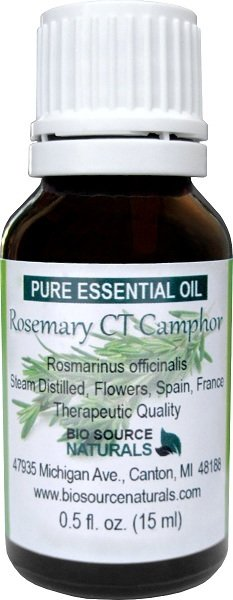 Rosemary Pure Essential Oil -  CT Camphor, Spain