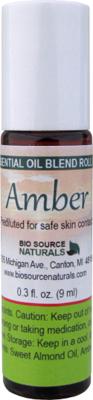 Amber Resin Oil - 0.3 fl oz (9 ml) Roll On