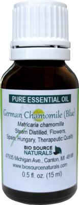 German Chamomile Pure Essential Oil (Blue)