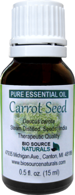 Carrot Seed Pure Essential Oil with Analysis Report