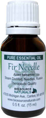 Fir Needle Pure Essential Oil with Analysis Report