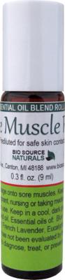 Sore Muscle Rub Essential Oil Blend - 0.3 fl oz (9 ml) Roll On