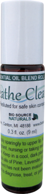 Breathe Clearly Essential Oil Blend - 0.3 fl oz (9 ml) Roll On