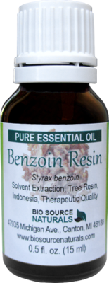 Benzoin Resin Oil with Analysis Report