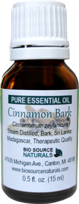 Cinnamon Bark Pure Essential Oil with Analysis Report
