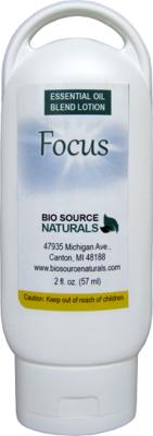 Focus Essential Oil 2 fl oz (60 ml) Lotion