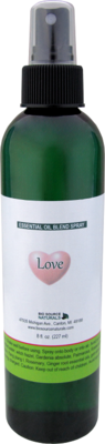 Love Essential Oil Blend Spray 8 fl oz (227 ml)