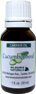 Cucumber Seed Carrier Oil - 1 fl oz (30 ml)