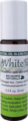 Soft, White Floral Essential Oil Blend - 0.3 fl oz (9 ml) Roll On