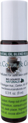 Coffee, Cocoa & Coconut Essential Oil Blend - 0.3 fl oz (9 ml) Roll On
