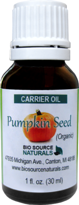 Pumpkin Seed Carrier Oil - 1 fl oz (30 ml)