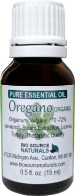Oregano Pure Essential Oil -  Organic - Turkey with GC Report